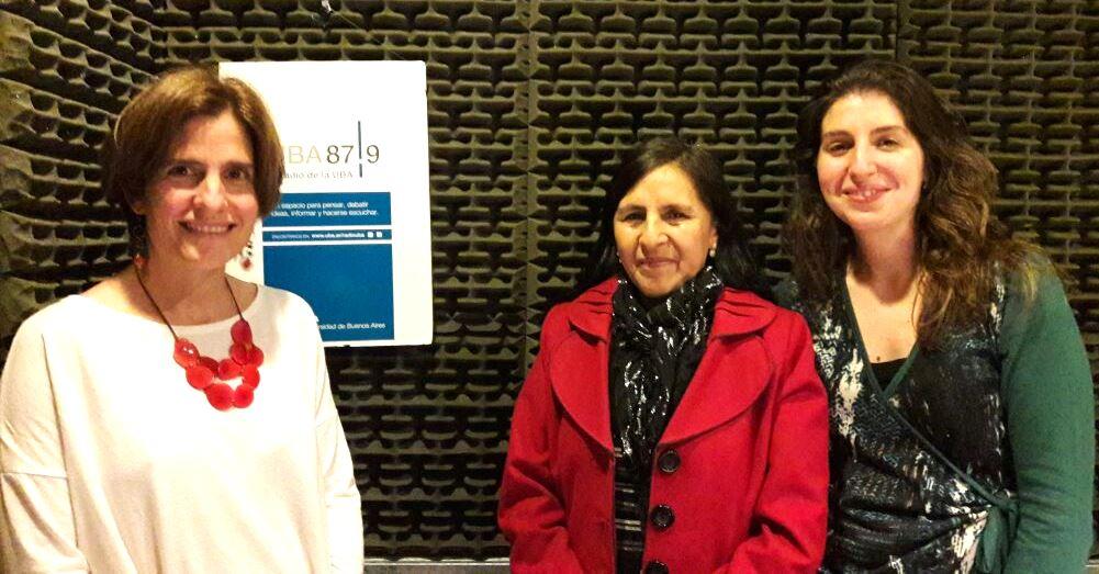 Natalia Debandi, Zulema Montero, El Puente, Radio Uba